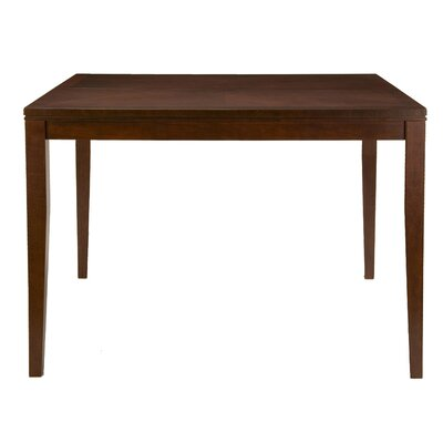 Alpine Furniture Anderson Pub Table with Butterfly Leaf in Medium Cherry
