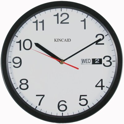Kincaid Clocks Wall Clock with Black Frame