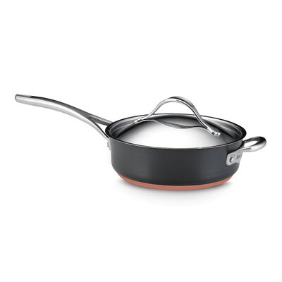 Anolon Nouvelle Copper 3-qt. Saute Pan with Lid