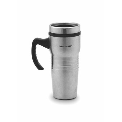 Farberware Travel Mug in Stainless Steel (Set of 2)
