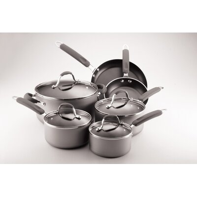 Enhanced 10-Piece Non-Stick Cookware Set