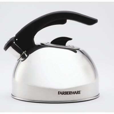 Farberware 2-qt. Larkspur Whistling Tea Kettle