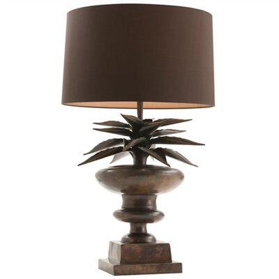 ARTERIORS Home Agave Large Patina Iron Lamp