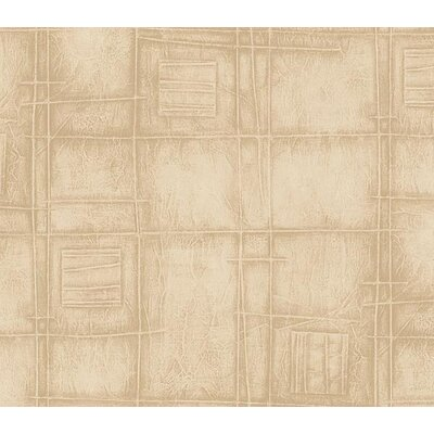 4 Walls Whimsical Children's Vol. 1 Tonal Squares Wallpaper in Beige