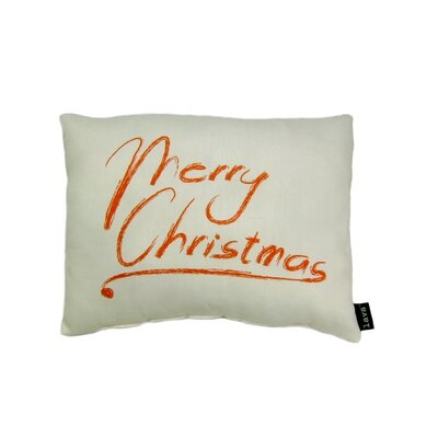 lava Merry Christmas Pillow
