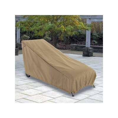 Classic Accessories Patio Chaise Cover in Sand