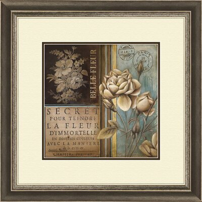 Pro Tour Memorabilia Belle Fleur A Framed Art