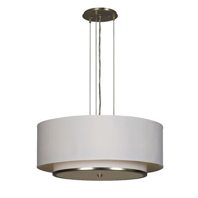 AFX Convertible 6 Light Drum Pendant