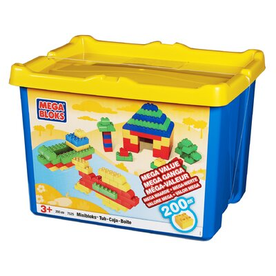 Mega Brands Mini Bloks Bucket 200