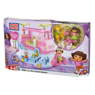 Mega Brands Nickelodeon Dora the Explorer Vacation Adventure