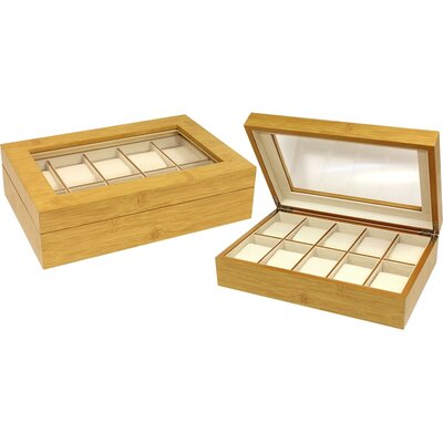 Seya Inc. 10 Slot Watch Box