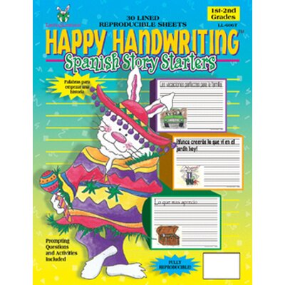 Barker Creek & Lasting Lessons Happy Handwriting Paper Spanish S