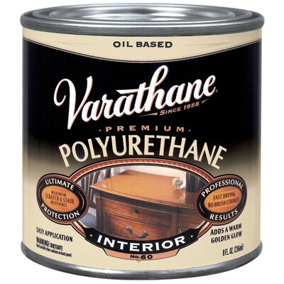 Varathane 8 Oz Oil Based Satin Polyurethane 242178
