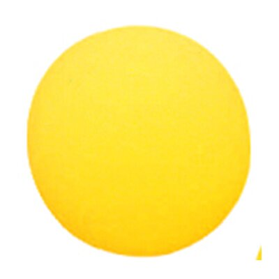 Dick Martin Sports Foam Ball 8-1/2 Uncoated Yellow