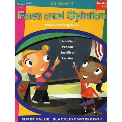 ECS Learning Resources Fact And Opinion Spanish Gr 1 - 3