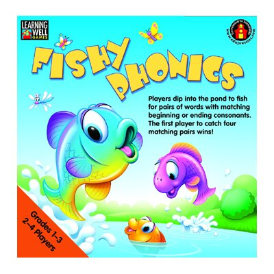 Edupress Fishy Phonics Beginning And Ending