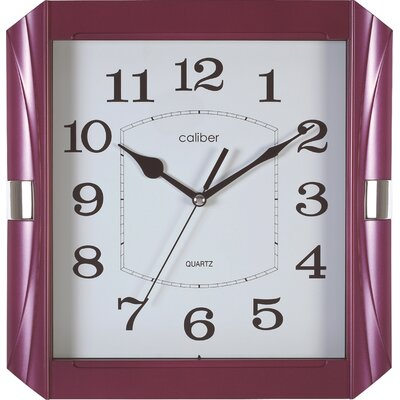Opal Luxury Time Products Caliber Glossy Case Wall Clock