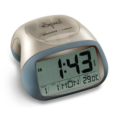 Opal Luxury Time Products Digital Table Top Alarm Clock