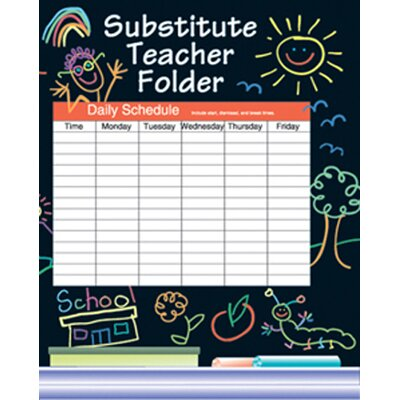 Frank Schaffer Publications/Carson Dellosa Publications Substitute Folder Elem Kid-drawn