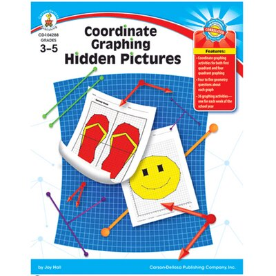 Frank Schaffer Publications/Carson Dellosa Publications Coordinate Graphing Hidden Pictures