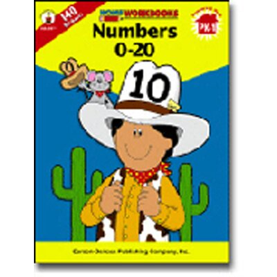 Frank Schaffer Publications/Carson Dellosa Publications Numbers 0 20 Workbook