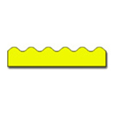 Frank Schaffer Publications/Carson Dellosa Publications Border Yellow Scalloped
