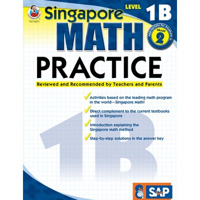 Frank Schaffer Publications/Carson Dellosa Publications Math Practice Level 1b Gr 1-2
