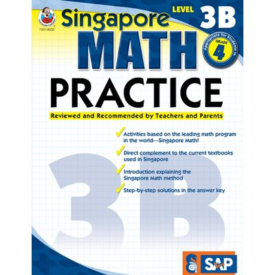 Frank Schaffer Publications/Carson Dellosa Publications Math Practice Level 3b Gr 4