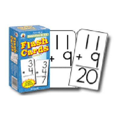 Frank Schaffer Publications/Carson Dellosa Publications Flash Cards Addition 0-12
