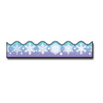 Frank Schaffer Publications/Carson Dellosa Publications Border Snowflakes Scalloped