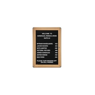 Ghent 1-Door Ovation Changeable Letterboard
