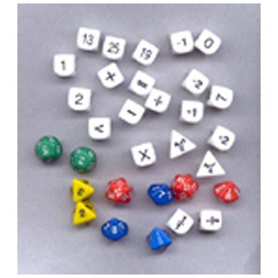 Koplow Games Inc Classroom Dice Set (Set of 31)