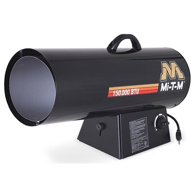 Mi-T-M Hand Carry 50,000 BTU Forced Air Utility Propane Space Heater