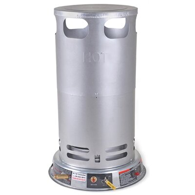 Mi-T-M Gas-Fired Portable 200,000 BTU Convection Propane Tank Top Space Heater