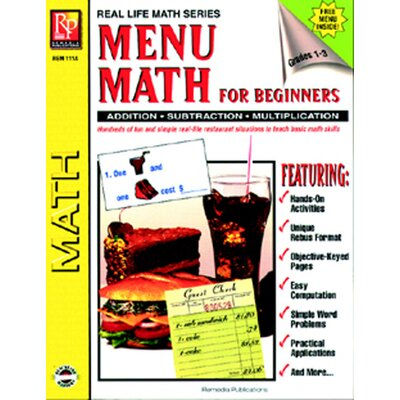 Remedia Publications Menu Math For Beginners