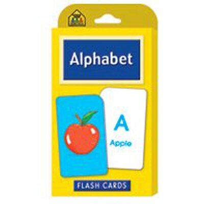 School Zone Publishing Alphabet Flash Cards