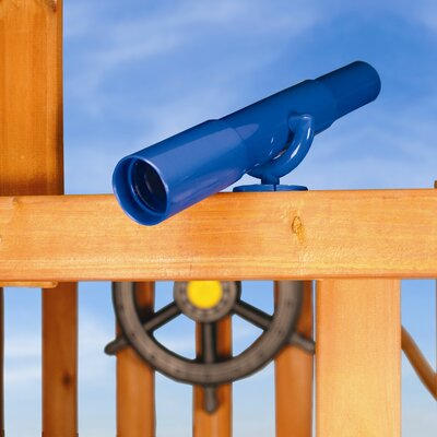 Gorilla Playsets Telescope Swing Set Accessory in Blue