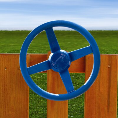 Gorilla Playsets Steering Wheel Swing Set Accessory in Blue