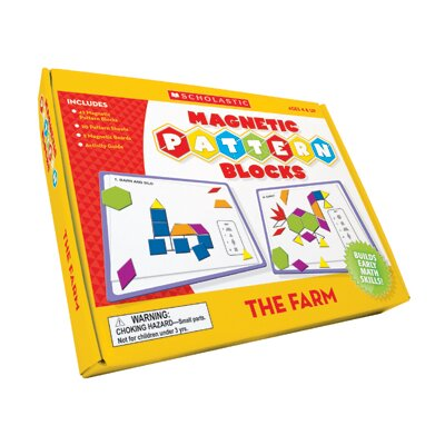 Teachers Friend The Farm Magnetic Pattern Blocks