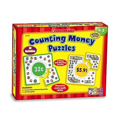 Teachers Friend Counting Money Boxed Kits - Puzzles