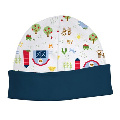 i play. Organically Grown Baby Cap-Farm Print