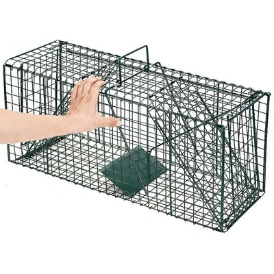 Pentagon Green Dual Door Live Animal Pet Trap / Cage