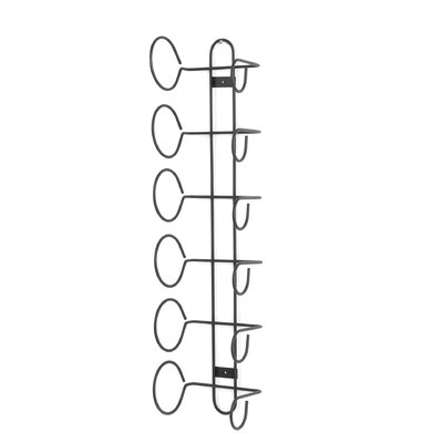 Spectrum Diversified 6 Bottle Wall Mounted Wine Rack