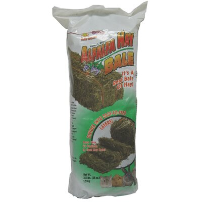 F.M. Browns Wildbird Falfa Cravins Alfalfa Hay Bale Small Animal Treat - 56 oz.