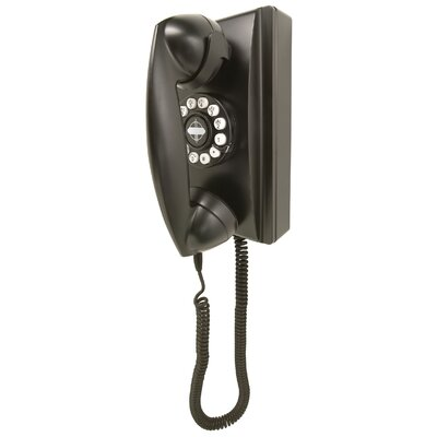 Crosley 302 Classic Black Wall Phone