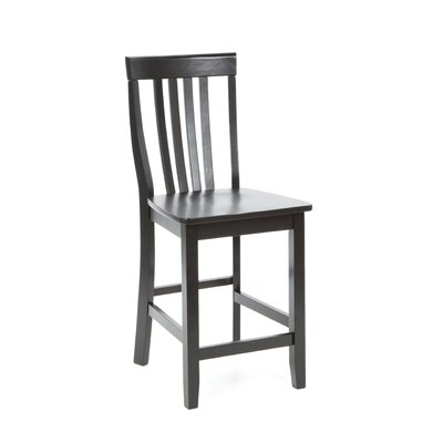 "Crosley School House 24"" Barstool in Black"