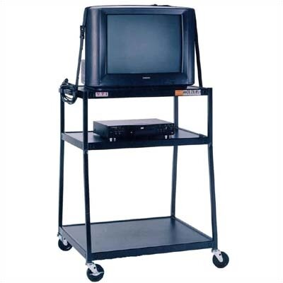 "VTI 44"" High, 2-Shelf Wide Body TV Cart"
