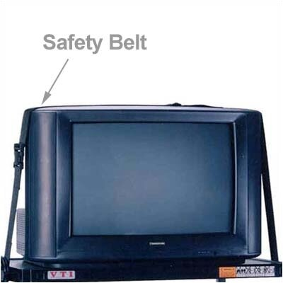 VTI AV Cart Safety Belts - 12'