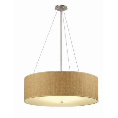 Organic Modern Taylor Pendant Shade in Natural Grasscloth
