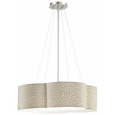 Philips Forecast Lighting Noe 3 Light Drum Pendant